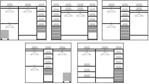 """Изготовление мебели под заказ =фирма """"канон"""":варианты внутре."""